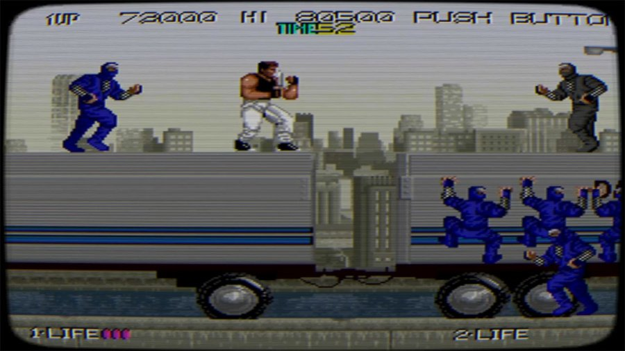 Johnny Turbo's Arcade: Bad Dudes Review - Screenshot 2 of 4