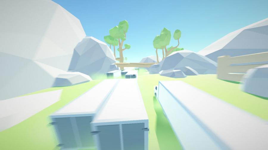 Clustertruck Review - Screenshot 1 of 3