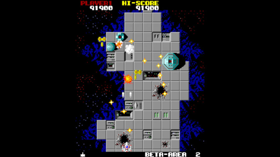 Arcade Archives Star Force Review - Screenshot 1 of 3