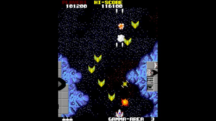Arcade Archives Star Force Review - Screenshot 2 of 3