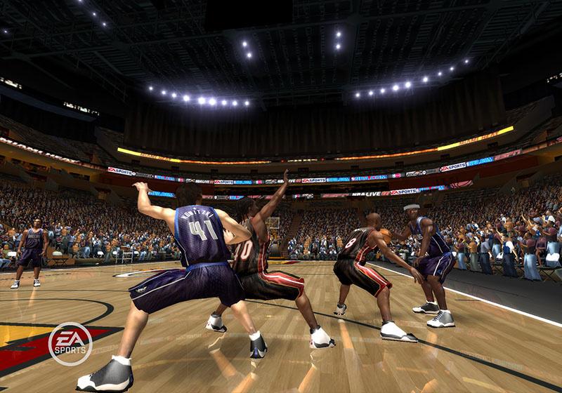 NBA Live 08 Screenshot