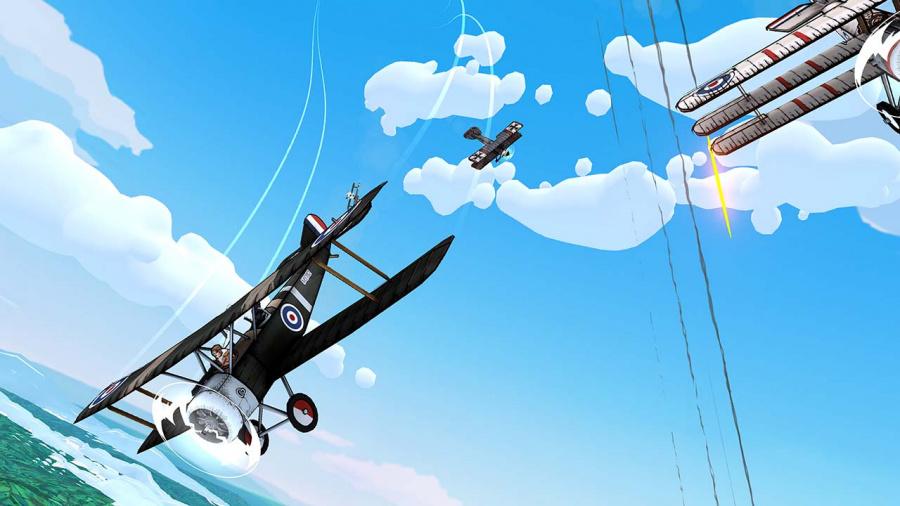 Skies Of Fury DX Review - Screenshot 1 of 4