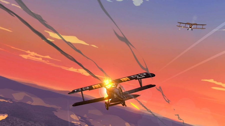Skies Of Fury DX Review - Screenshot 3 of 4