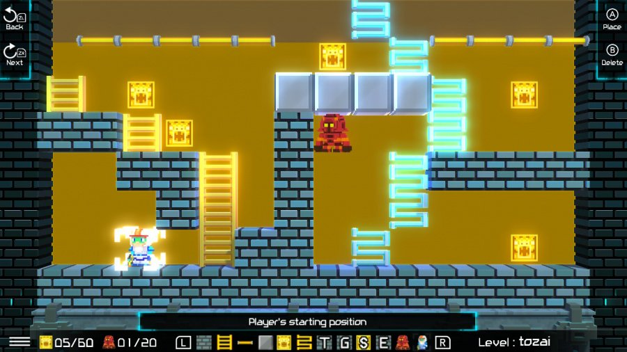 Lode Runner Legacy Review - Screenshot 1 of 4