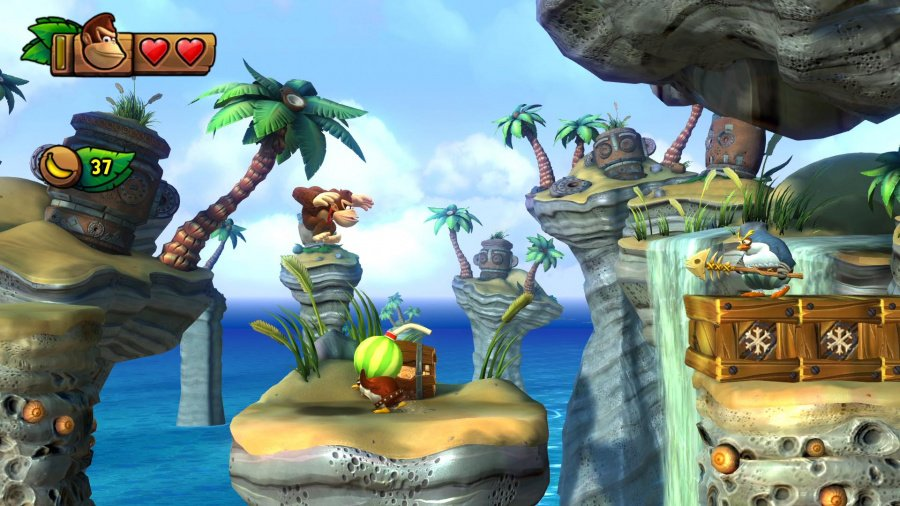 Donkey Kong Country: Tropical Freeze Review - Screenshot 2 of 5