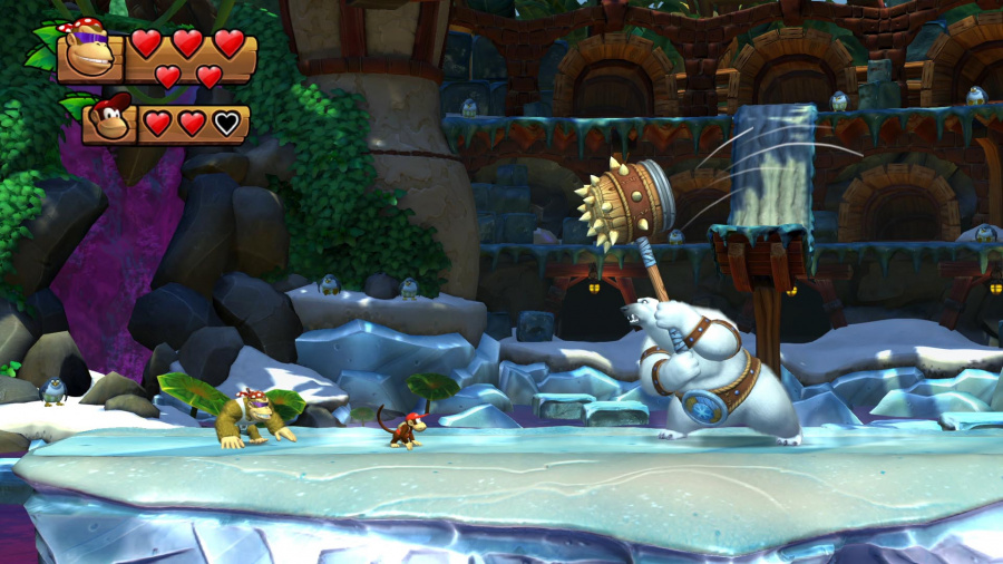 Donkey Kong Country: Tropical Freeze Review - Screenshot 4 of 5