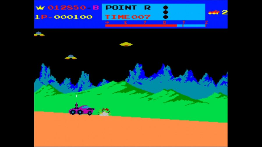 Arcade Archives Moon Patrol Review - Screenshot 1 of 3