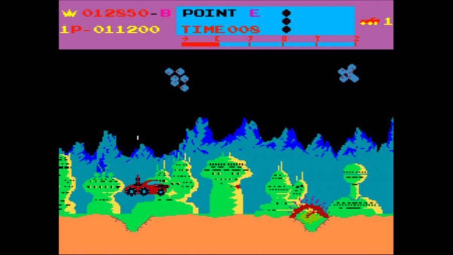 Arcade Archives Moon Patrol Review - Screenshot 2 of 3