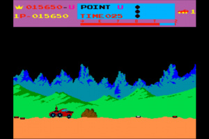Arcade Archives Moon Patrol Screenshot