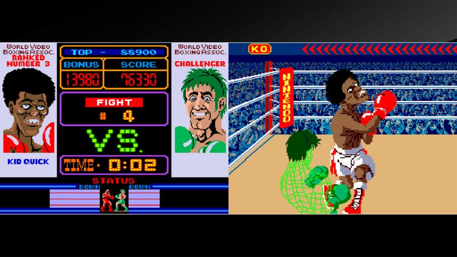 Arcade Archives Punch-Out!! Review - Screenshot 1 of 3