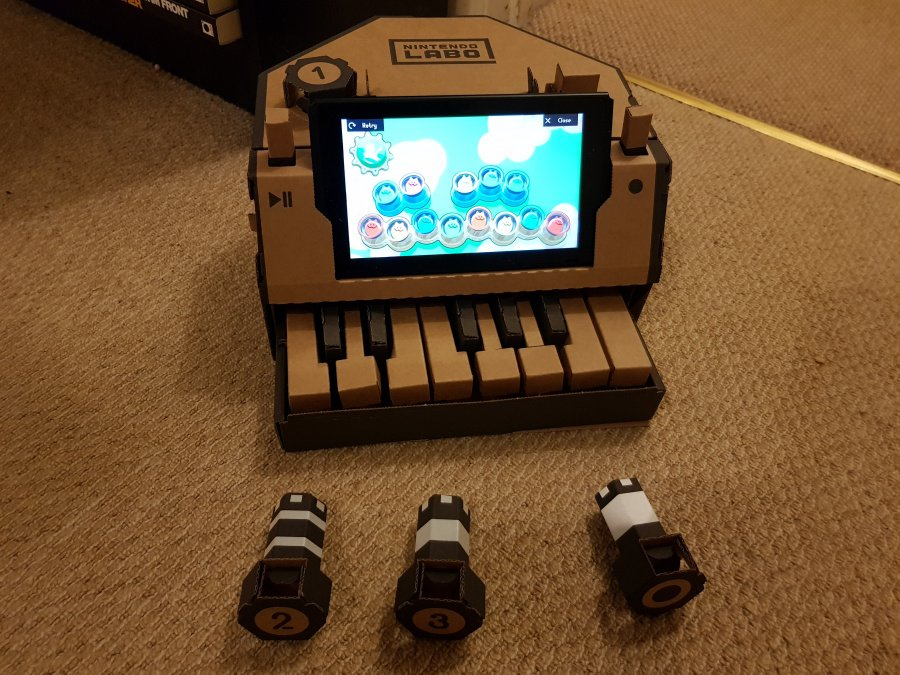 Nintendo Labo Toy-Con 01: Variety Kit Review - Screenshot 1 of 6