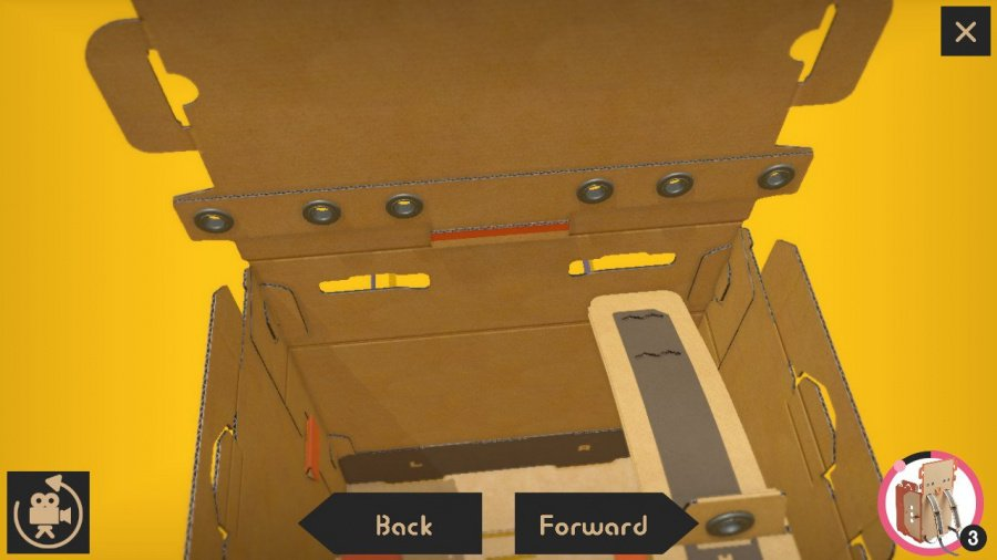 Nintendo Labo Toy-Con 02: Robot Kit Review - Screenshot 2 of 5