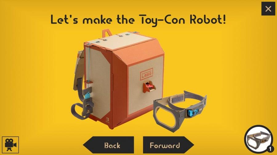 Nintendo Labo Toy-Con 02: Robot Kit Review - Screenshot 1 of 4