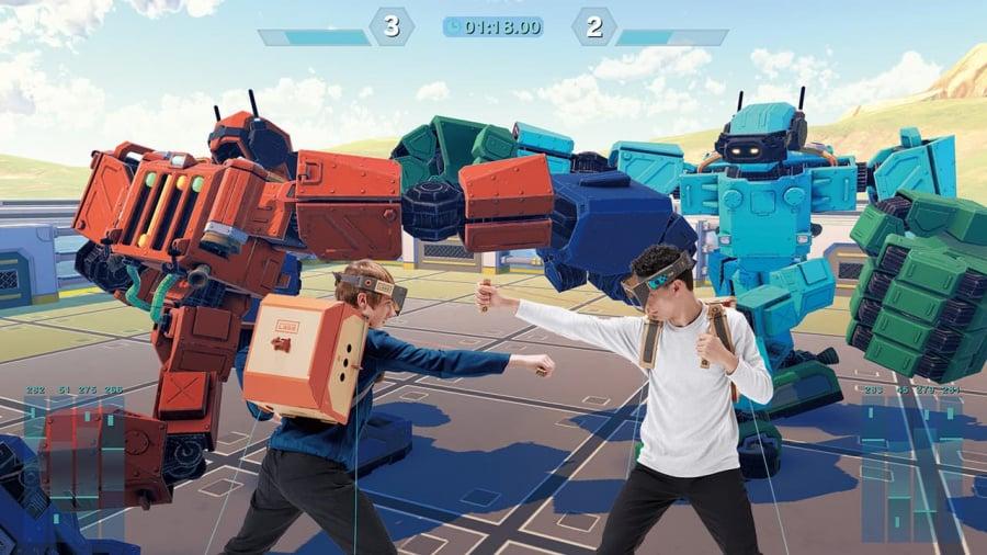 Nintendo Labo Toy-Con 02: Robot Kit Review - Screenshot 3 of 4