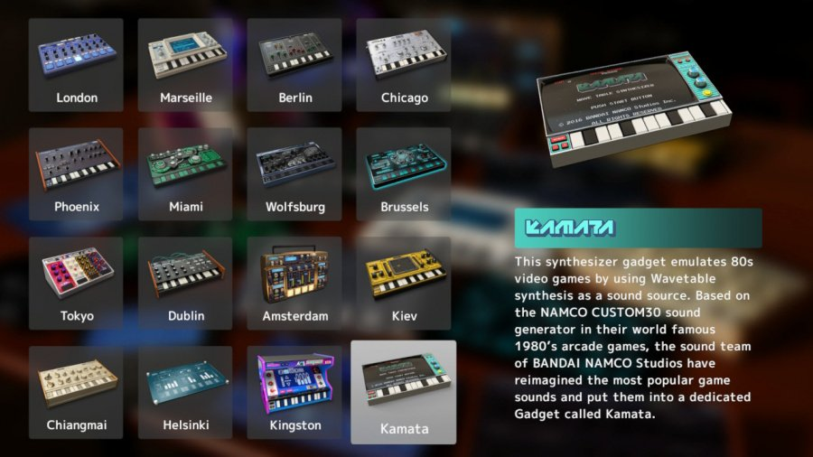 KORG Gadget Review - Screenshot 3 of 4