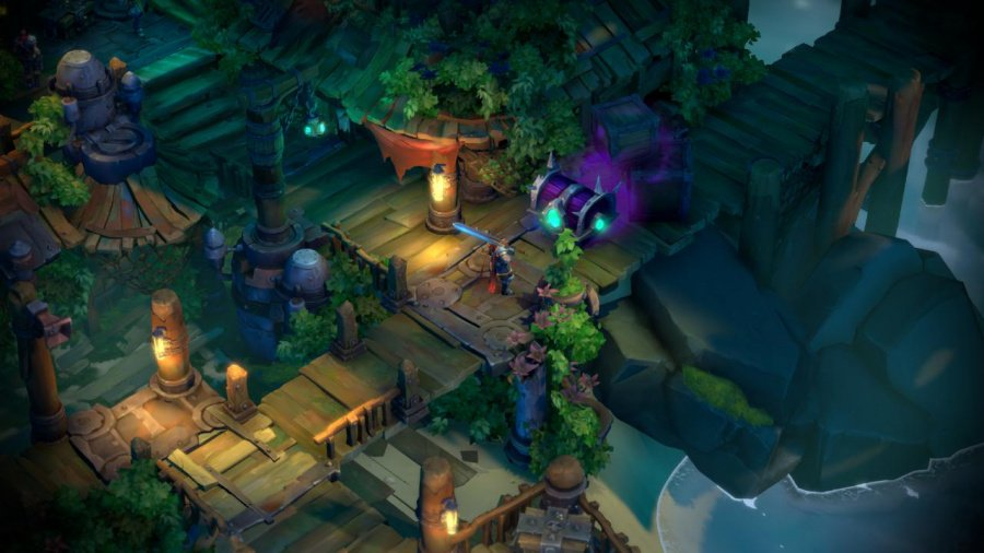 Battle Chasers: Nightwar Review - Screenshot 1 of 5