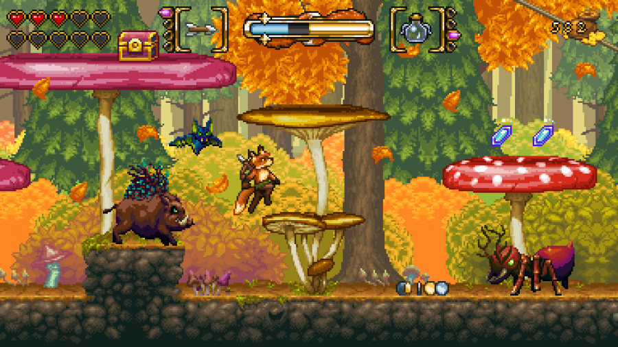 Fox n Forests Review - Screenshot 1 of 3
