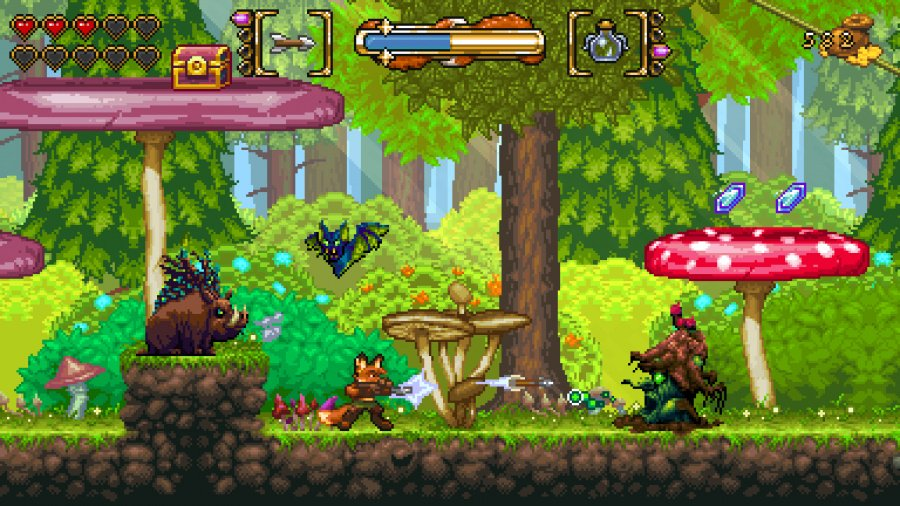 Fox n Forests Review - Screenshot 2 of 3