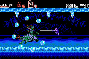 Bloodstained: Curse of the Moon Screenshot