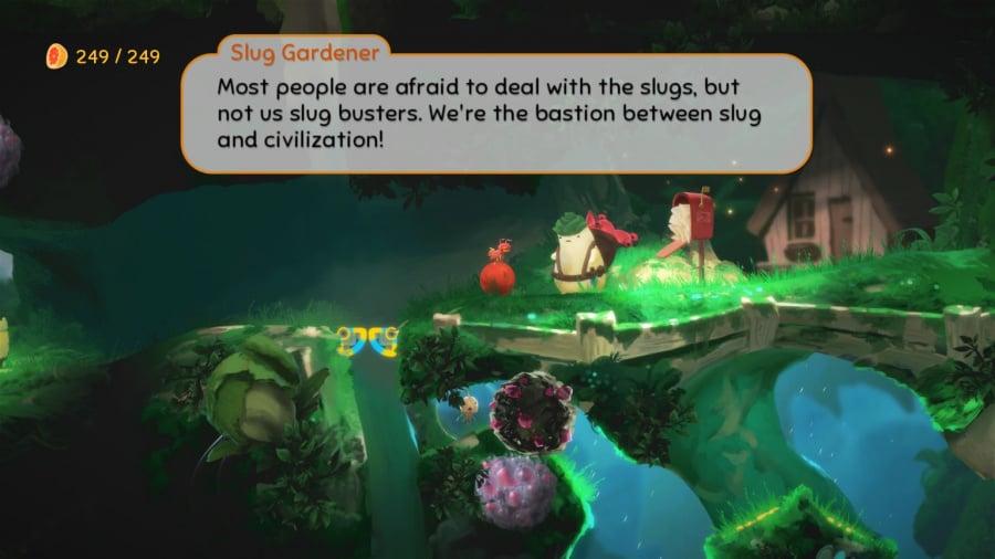 Yoku's Island Express Review - Screenshot 2 of 4