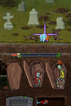 Teenage Zombies: Invasion of the Alien Brain Thingys! Review - Screenshot 2 of 3