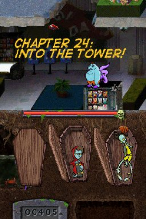 Teenage Zombies: Invasion of the Alien Brain Thingys! Review - Screenshot 1 of 3