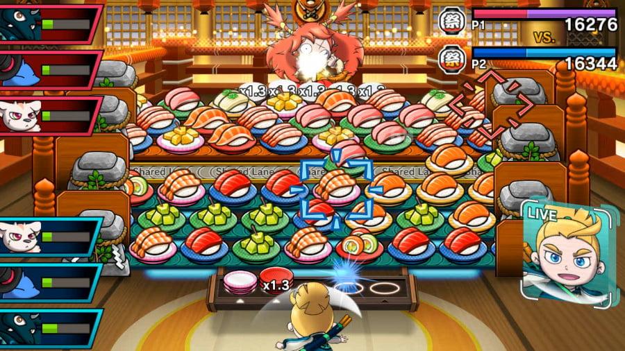 Sushi Striker: The Way of Sushido Review - Screenshot 1 of 4