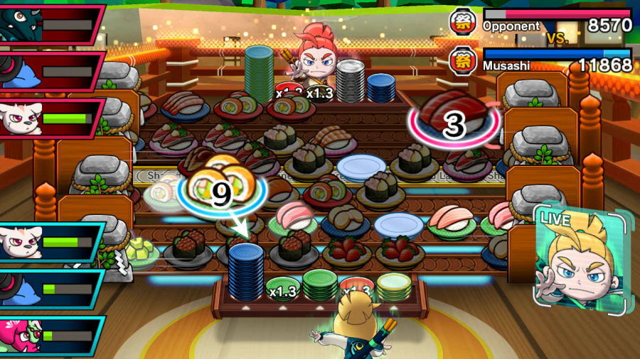 Sushi Striker: The Way of Sushido Review - Screenshot 5 of 5