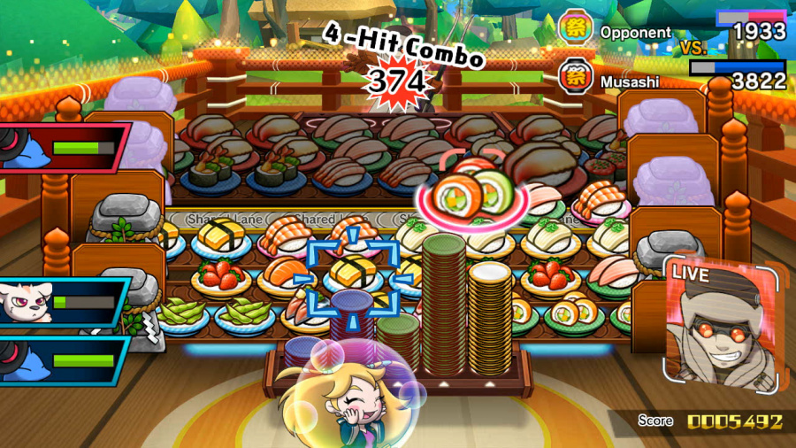 Sushi Striker: The Way of Sushido Review - Screenshot 4 of 5