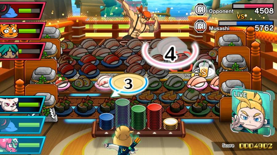 Sushi Striker: The Way of Sushido Review - Screenshot 3 of 5