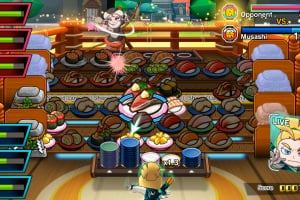 Sushi Striker: The Way of Sushido Screenshot