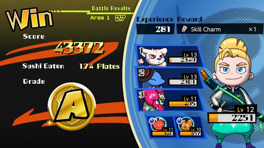 Sushi Striker: The Way of Sushido Review - Screenshot 5 of 5