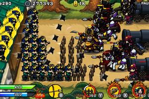 Samurai Defender: Ninja Warfare Screenshot