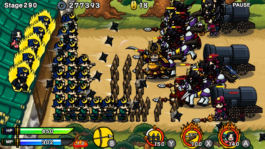 Samurai Defender: Ninja Warfare Review - Screenshot 1 of 3