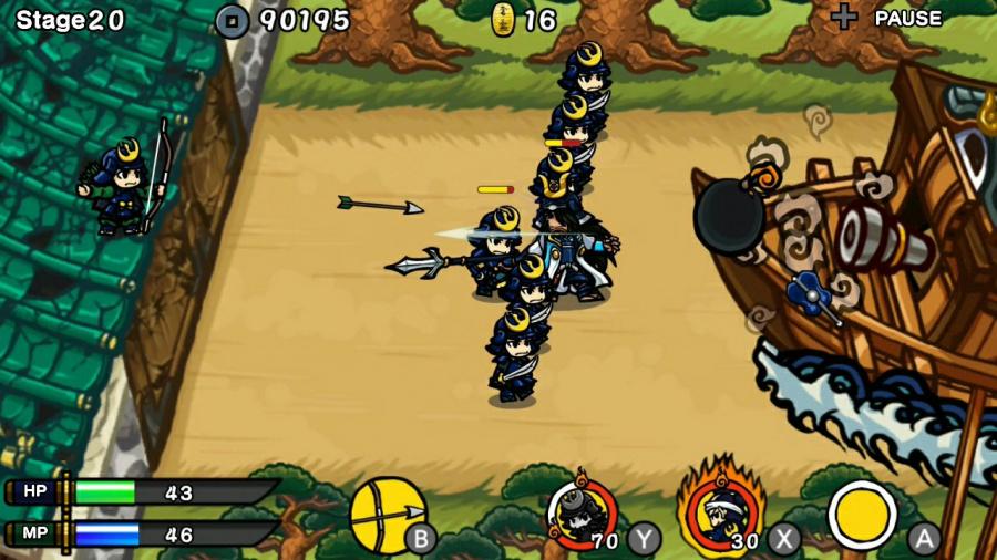 Samurai Defender: Ninja Warfare Review - Screenshot 2 of 3