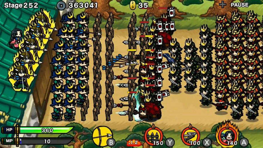 Samurai Defender: Ninja Warfare Review - Screenshot 3 of 3