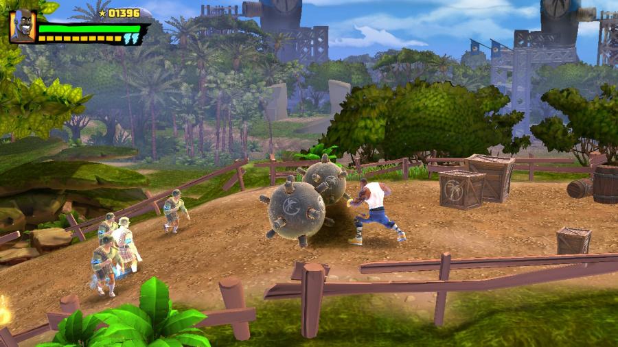 Shaq-Fu: A Legend Reborn Review - Screenshot 2 of 4
