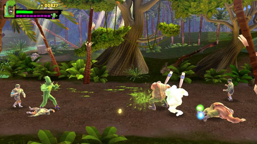 Shaq-Fu: A Legend Reborn Review - Screenshot 3 of 4