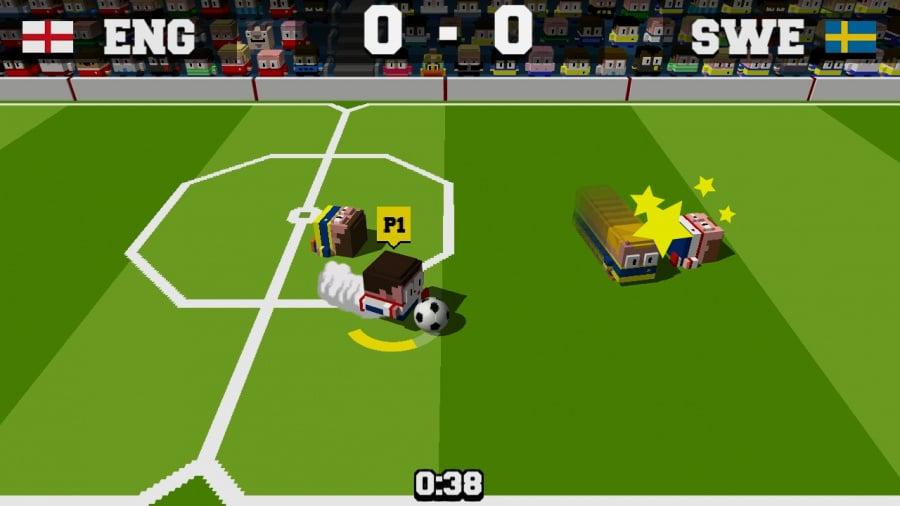 Soccer Slammers Review - Screenshot 2 of 3