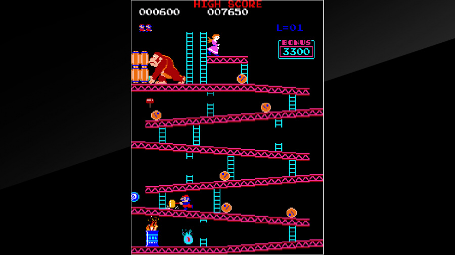 Arcade Archives Donkey Kong Review - Screenshot 2 of 6
