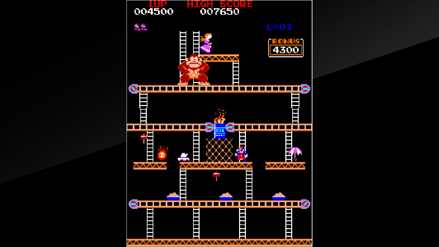 Arcade Archives Donkey Kong Review - Screenshot 4 of 6