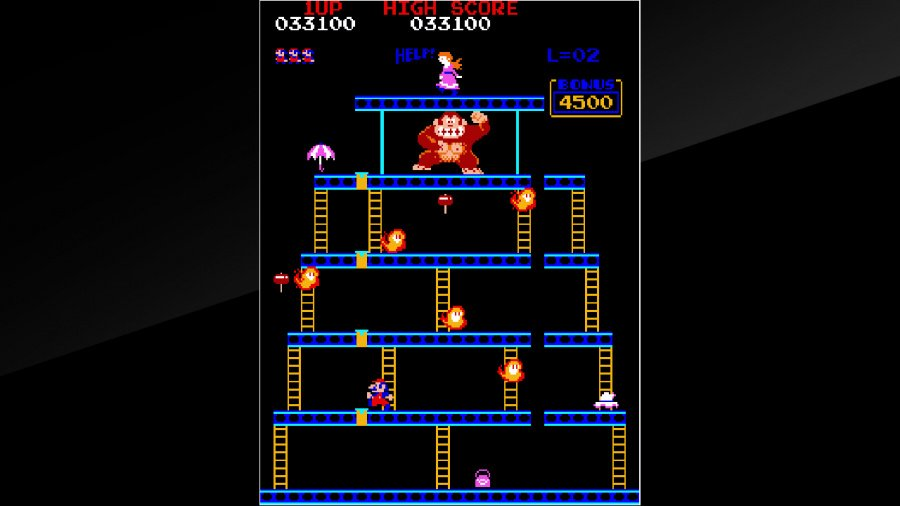 Arcade Archives Donkey Kong Review - Screenshot 1 of 6
