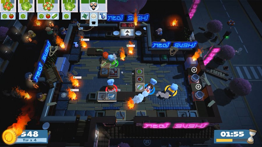 Overcooked 2 Review - Screenshot 2 of 6