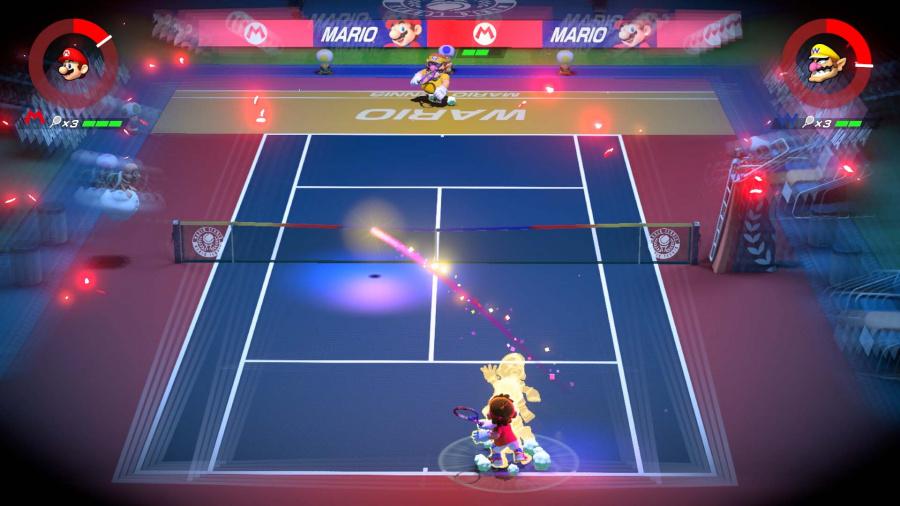 Mario Tennis Aces Review - Screenshot 4 of 6