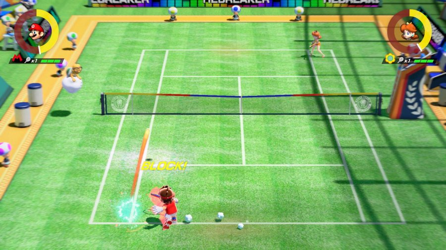 Mario Tennis Aces Review - Screenshot 1 of 6