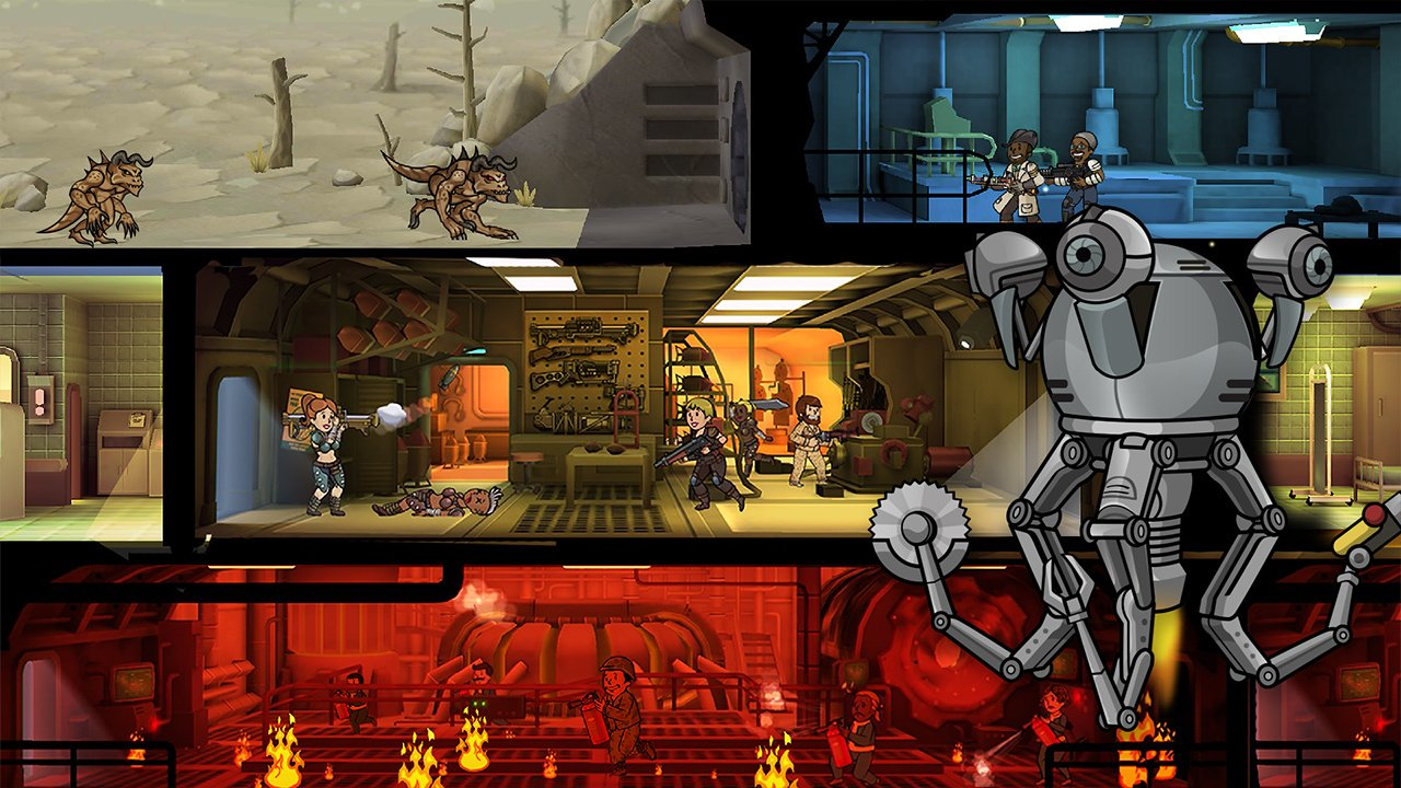 how to kill cawkroach in fallout shelter