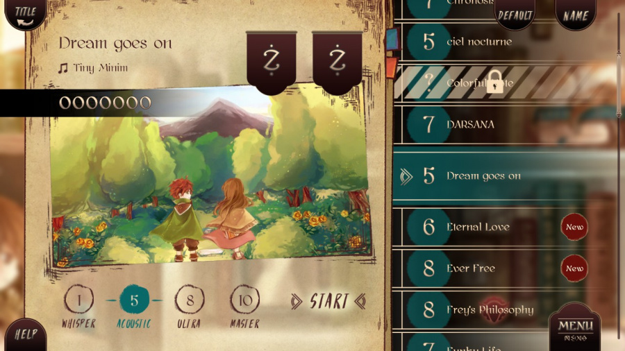 Lanota Review - Screenshot 1 of 4