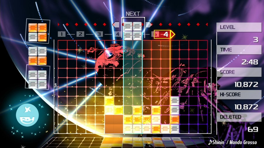 Lumines Remastered Review - Screenshot 3 of 8