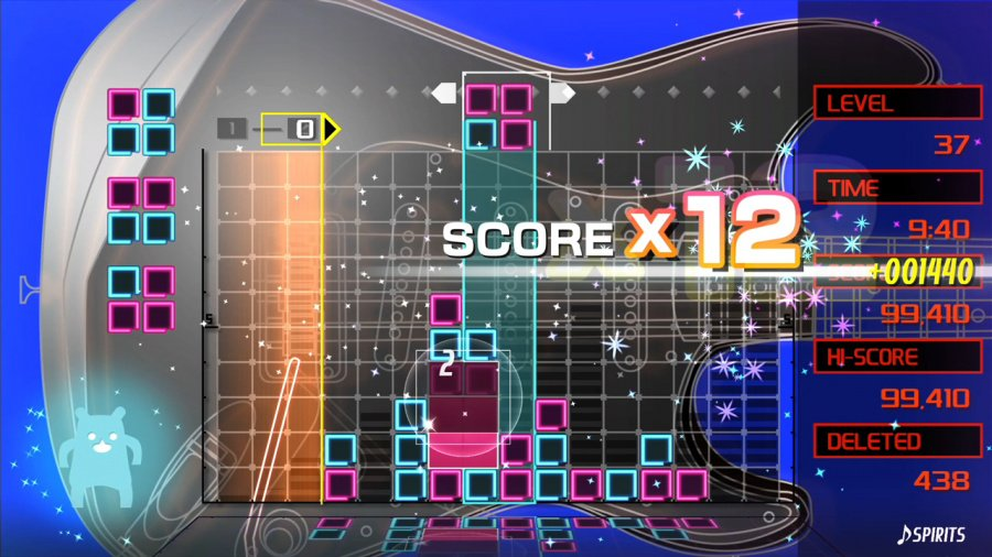 Lumines Remastered Review - Screenshot 1 of 8