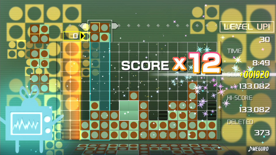 Lumines Remastered Review - Screenshot 6 of 8
